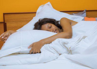 Cliente endormie Premium hôtel
